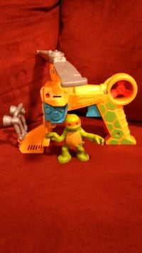 Imaginext Ninja turtle and helicopter  Baltimore, 21228