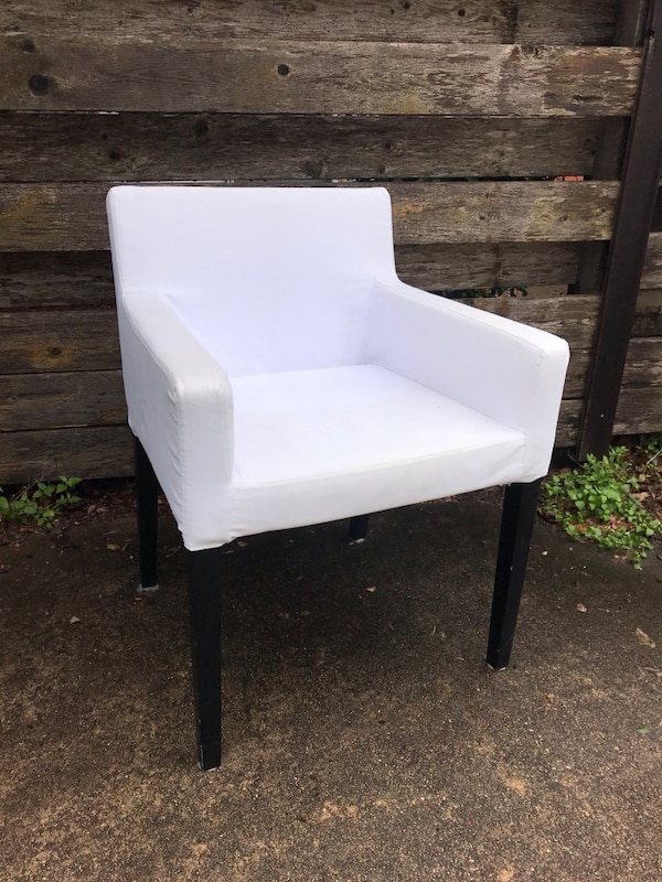 Phenomenal Ikea Chair And White Slip Cover Pabps2019 Chair Design Images Pabps2019Com