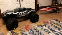 black and white Traxxas RC toy car Holyoke, 01040