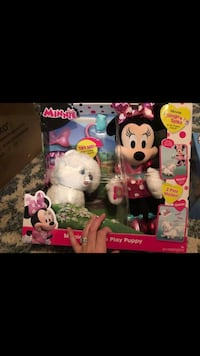 Minnie Mouse and puppy toy Simpsonville, 29681