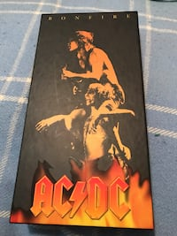 AC/DC Bonfire boxset , poster , guitar pic , booklet, key chain , and stickers  Vancouver, V5T 2T7