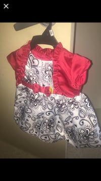 Girl's white and pink floral dress Winnipeg, R3E