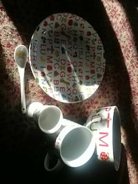Child's 5 piece place setting