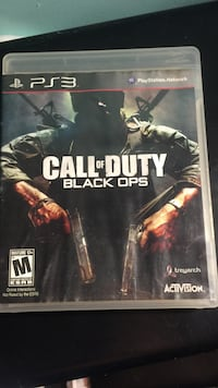 Call of Duty Black Ops PS3 game case