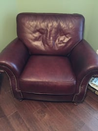 Mahogany leather chair Charlotte, 28278