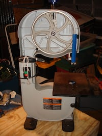 delta band saw 10 inch missing side cover Manville