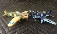 Vintage Tootsietoy F40 Flying Tigers Planes Mount Wolf, 17347