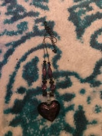 brown and black beaded necklace NEWARK