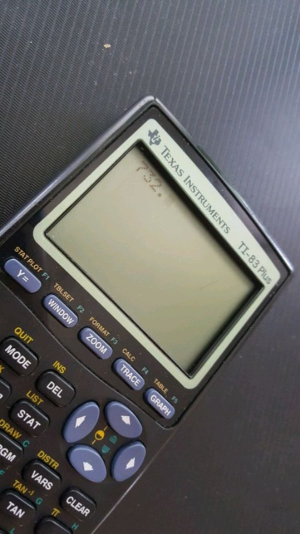 Texas Instruments TI-83 Plus 10-Digit Graphing C 62833aa5-4491-4c6c-ac1b-e552572bb3ee