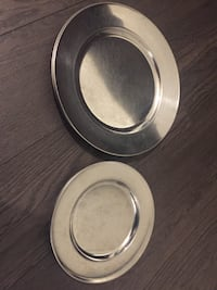 Stainless steel Plate 12 pieces Vancouver