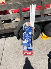 white and blue snowboard with bindings Reno, 89521