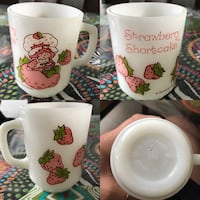 Collectible vintage strawberry shortcake mug Laval, H7W