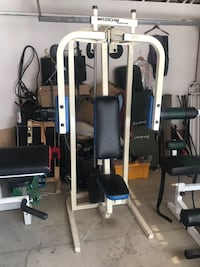 Maxicam pro gym chest Fly machine with 150lb stack Upland, 91784