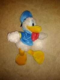 "Donald Duck 18"" plush Disneyland resort"