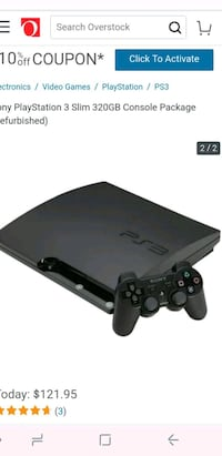 black Sony PS3 slim console with controller Grand Rapids, 49505
