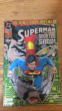reign of the superman comic book Shepherdstown, 25443