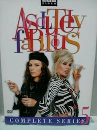 Absolutely Fabulous complete series 5 dvd
