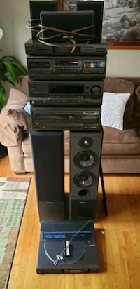 Technics 5.1 surround sound.  Ajax, L1S 3S1