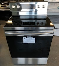 New Samsung stainless steel glass top stove 15% off Catonsville, 21228