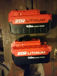 2 20 volt power drill batt Jacksonville Beach, 32250