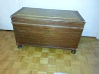 Wooden Chest  Mississauga, L5L 4W2