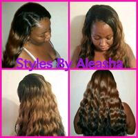 Wedding hair styling Las Vegas