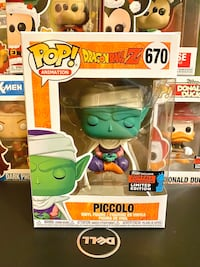 #670 Dragon Ball Z Piccolo (NYCC) Funko Pop Markham, L3P 2N7