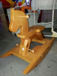 Rocking horse @ clic klak used toy warehouse  Mississauga, L4X 2S3