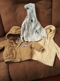 One year 12 month coat...gymboree cable knit zip  Rochester, 14625