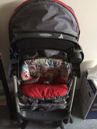 baby's black and red stroller Bothell, 98021