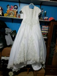 women's white floral wedding dress West Valley City, 84119