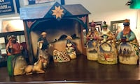 Jim Shore 10 pc Nativity Gladstone, 97027