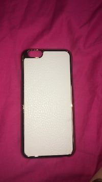 silver-colored framed white iPhone case Toronto, M6P