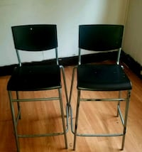 two black-and-gray metal chairs Winnipeg, R3E 2A7