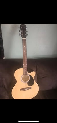 Brown and black cutaway acoustic guitar Oxnard, 93036
