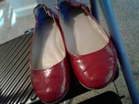 Missomie Supply red leather flats Manteca, 95337