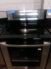Lg stainless steel stove gas excellent conditions  Baltimore, 21223
