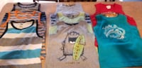 All Boys 3t and 4t tank tops  Cambridge