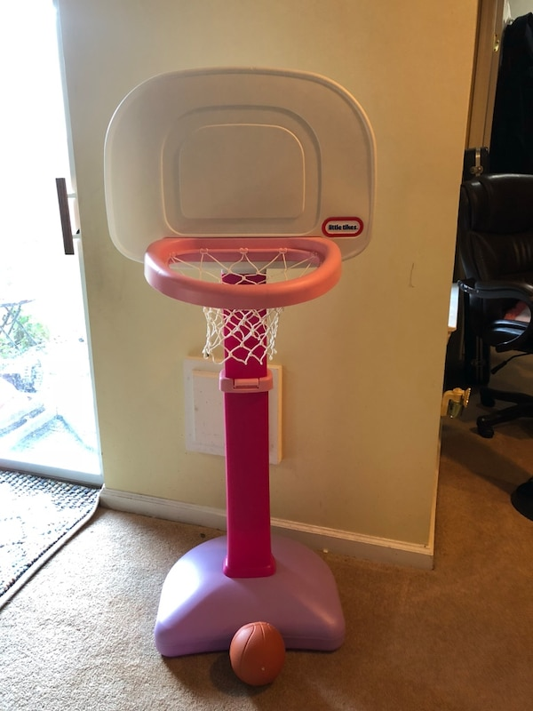 Little Tikes portable basketball system