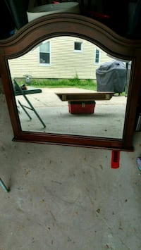 BRAND NEW - MIRROR with WOODEN FRAME