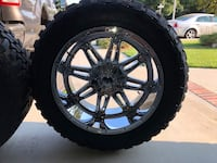 Fuel hostage 22x12 Ford F-250 8x170 lug pattern/Toyo Open Country 35x12.50x22 Hanford, 93230