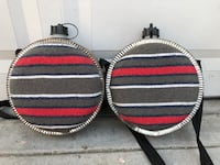 two black-and-red tennis rackets Alhambra