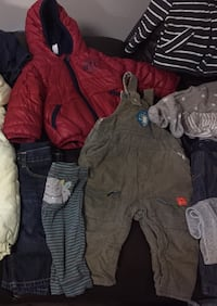 Massive baby boy clothes lot 6-9-12 Sudbury