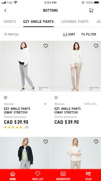 Ezy Ankle Pants from Uniqlo