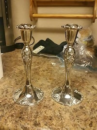 vintage silver candle holders Gilbert, 85234