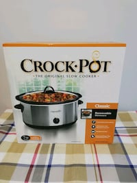 Crock pot - Slow cooker 7 qt Brampton, L6W 2A5