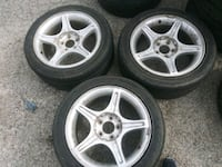 SELLING 3 USED MUSTANG TIRES WILL FIT FORD 5 LUG Dallas