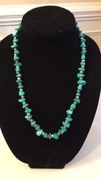 Blue stone Necklace $12 Mint Hill, 28227