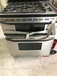 Maytag double gas oven