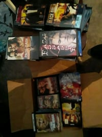DVDs great condition 80 of them $45